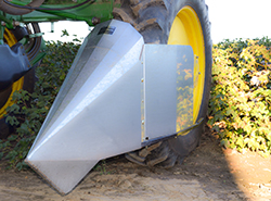 Cropsaver Deflector Extension Shield